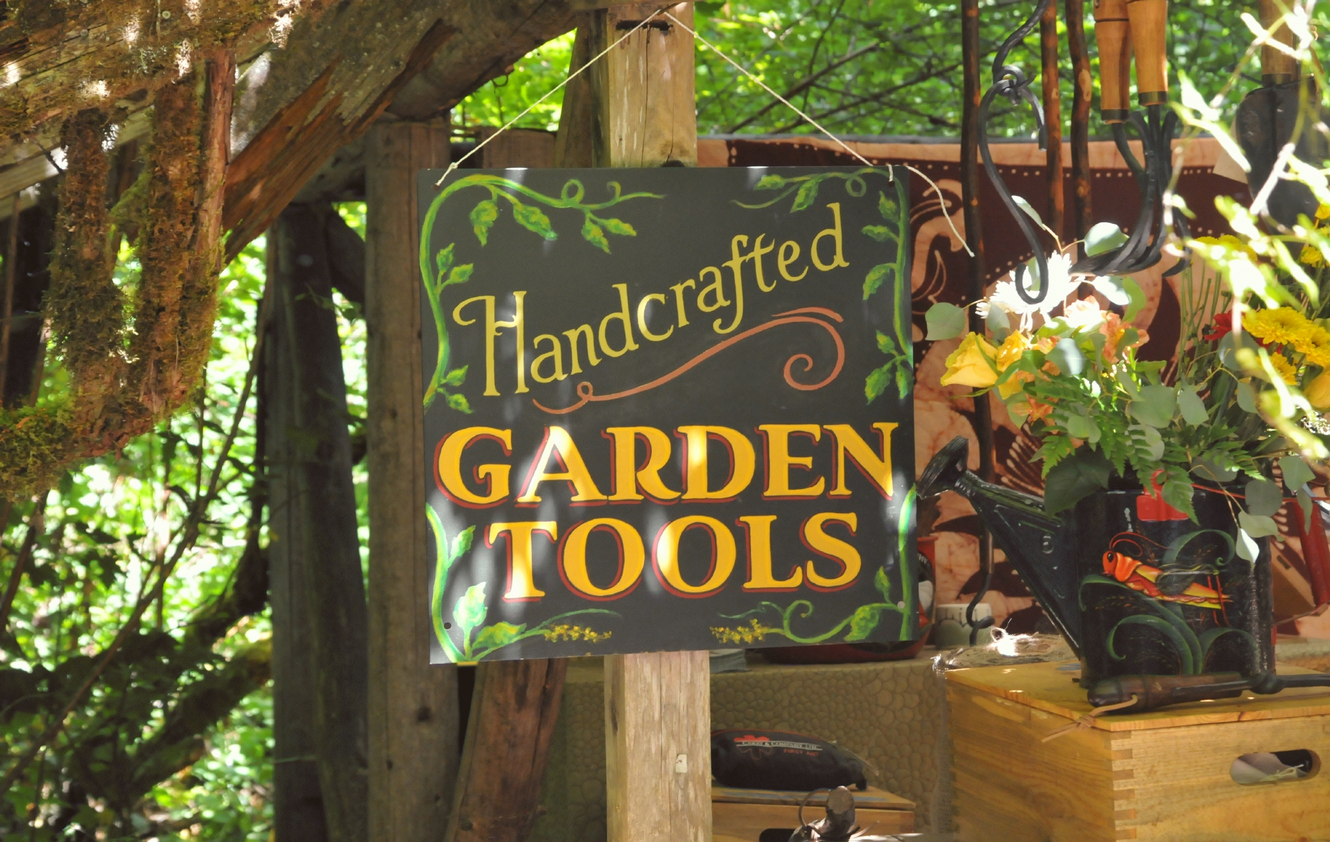 Bcx.News Garden Tools As Merchandise In The 2016 Oregon Country Fair ...
