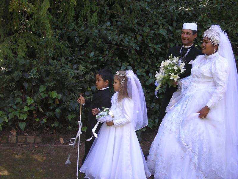 Muslim Wedding Dresses Cape Town : After lunch traditional walks in the garden