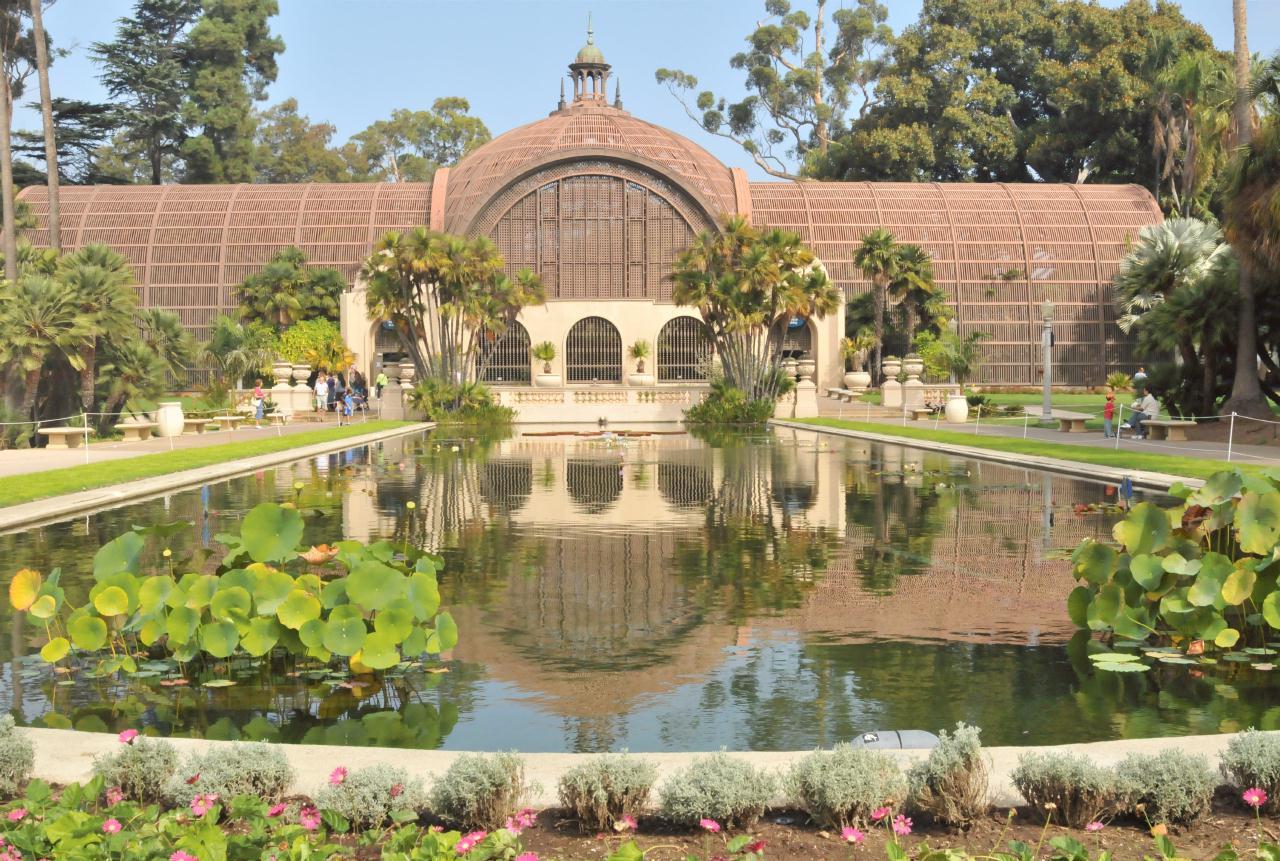 Bcx News Botanical Building Balboa Park