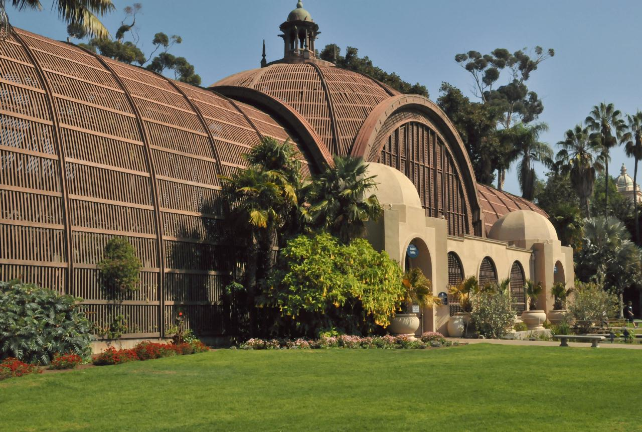Bcx.News Botanical Building Balboa Park